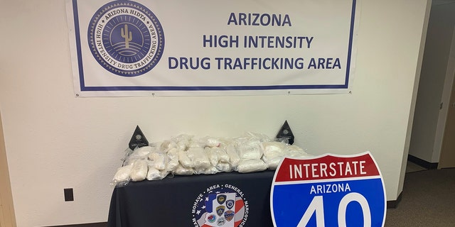 A drug bust in Arizona found nearly $4 million in meth.