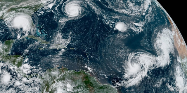 A look at the various tropical systems across the Atlantic basin on Sept. 14, 2020.