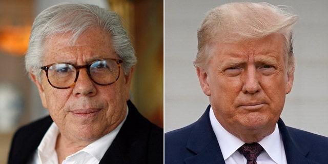 "CNN's Carl Bernstein is as a ""total nut job,"" according to President Trump."