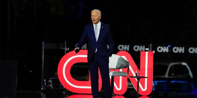 CNN doesn't scold those who celebrate Democratic candidate Joe Biden's expected victory in the same way as they condemn Trump rallyers, according to critics.  (AP Photo / Carolyn Kaster)
