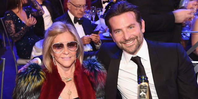 Gloria Campano and Bradley Cooper during the 25th Annual Screen Actors Guild Awards at The Shrine Auditorium on January 27, 2019 in Los Angeles, California