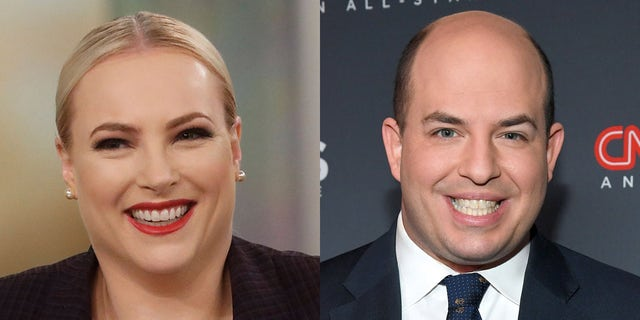 """The View"" co-host Meghan McCain confronted CNN's media critic, Brian Stelter, about his network's ethical issues."