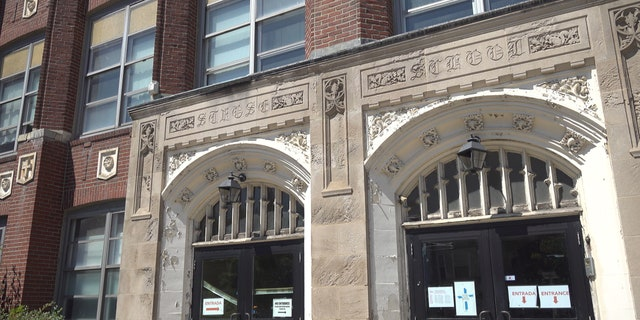 St. Rose School in Chelsea, Mass. is one of nine schools the Roman Catholic Archdiocese of Boston closed permanently this year.