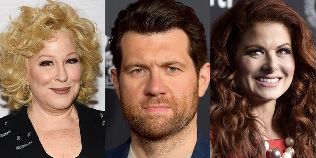 Bette Beteken, Billy Eichner and Debra Messing spoke out against Trump's Supreme Court selection Amy Coney Barrett.