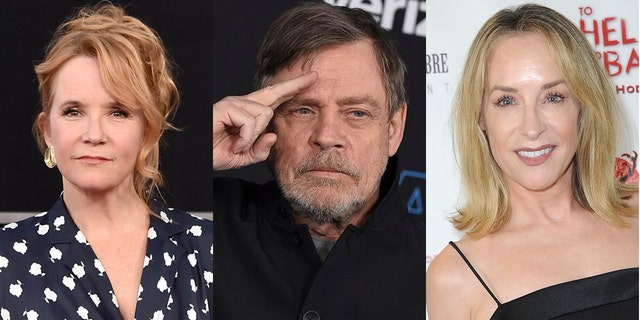Lea Thompson, Mark Hamill and Amanda Wyss joined in on the 'worst thing I've ever seen' meme during the presidential debate.