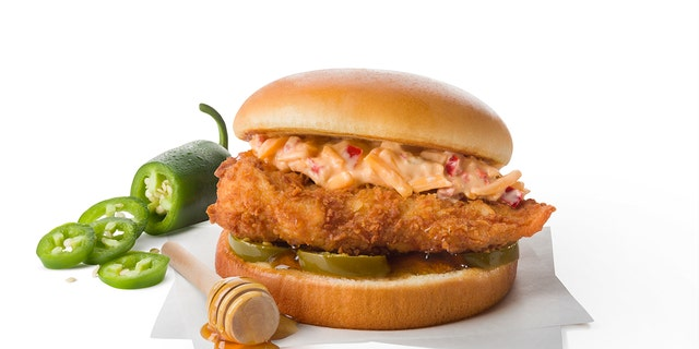 Chick-Fil-A is testing a Honey Pepper Pimento Chicken Sandwich for a limited time in North Carolina and South Carolina.