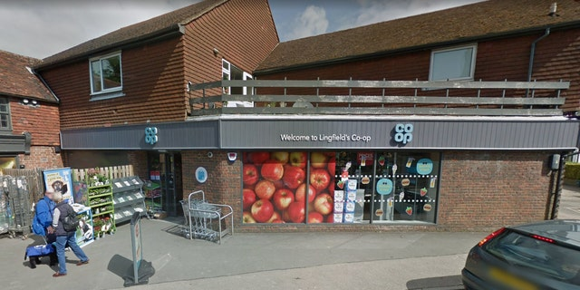 Closed-circuit surveillance footage of the incident, which actually took place in May, was only recently shared by the management of Co-op Food location in Surrey, England.
