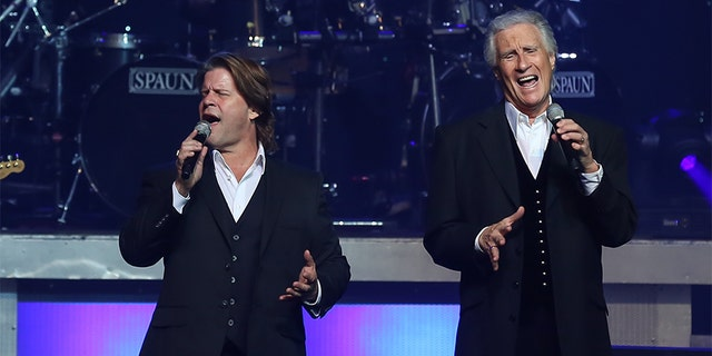 Bucky Heard (left) and Bill Medley of The Righteous Brothers.