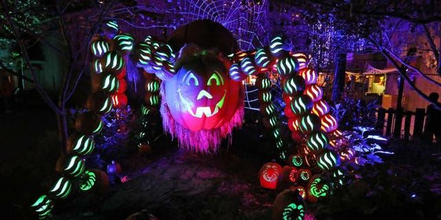 Great Pumpkin LumiNights will run at Dollywood through Halloween. (Dollywood)