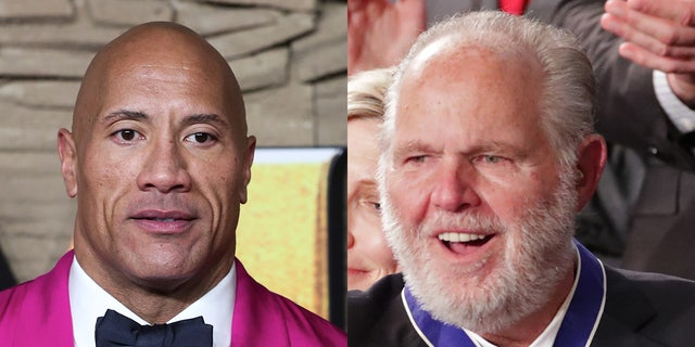 "Rush Limbaugh slammed Dwayne ""The Rock"" Johnson, saying the actor ""sold his soul to China"" when he endorsed former Vice President Joe Biden over President Trump."