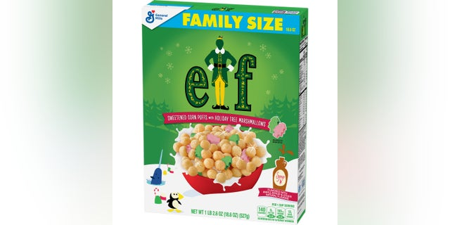 """General Mills's new """"Elf"""" cereal will be available for a limited time this holiday season. (General Mills)"""