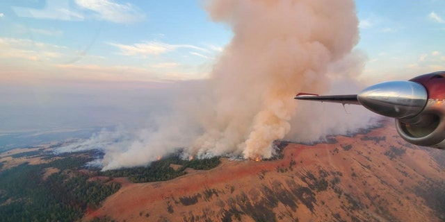 Evans Canyon Fire in southeastern Washington has grown to 75,817 acres and is 60% contained.