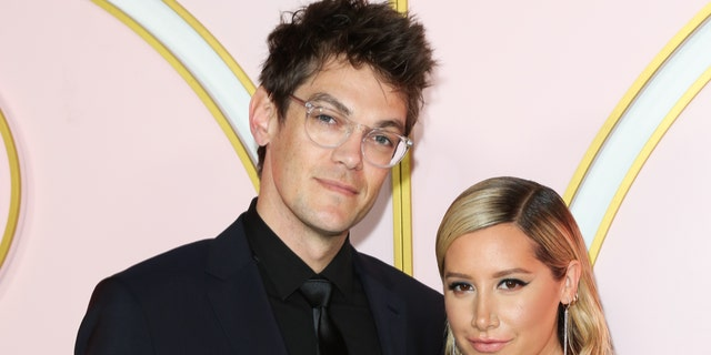 Christopher French and Ashley Tisdale. (Photo by Paul Archuleta/FilmMagic)