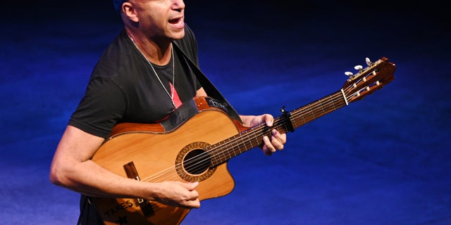 Audible celebrates Tom Morello at Minetta Lane Theatre In NYC on Sept.18, 2019 in New York City.