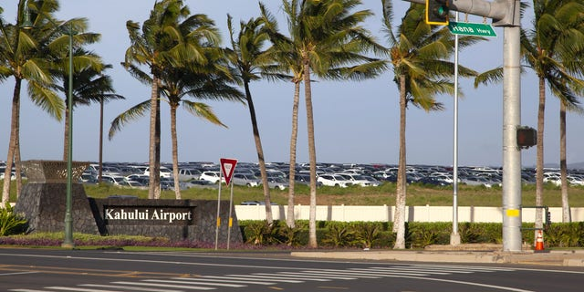 "On Sept. 7, the Maui Police Department (MPD) received word from Kahului Airport screeners that three members of the ""Love Has Won Cult"" were trying to travel to a non-approved location in Maui. (Mia Shimabuku/Bloomberg via Getty Images)"