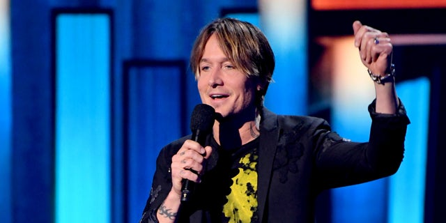 Keith Urban speaks onstage during the 55th Academy of Country Music Awards at the Grand Ole Opry on September 16, 2020 in Nashville, Tennessee. The ACM Awards airs on September 16, 2020 with some live and some prerecorded segments. (Photo by Kevin Mazur/ACMA2020/Getty Images for ACM)