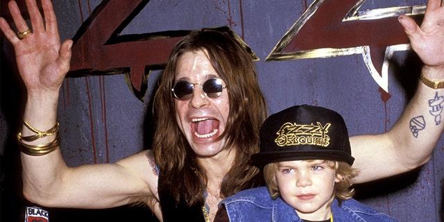 Ozzy Osbourne Jack Osbourne