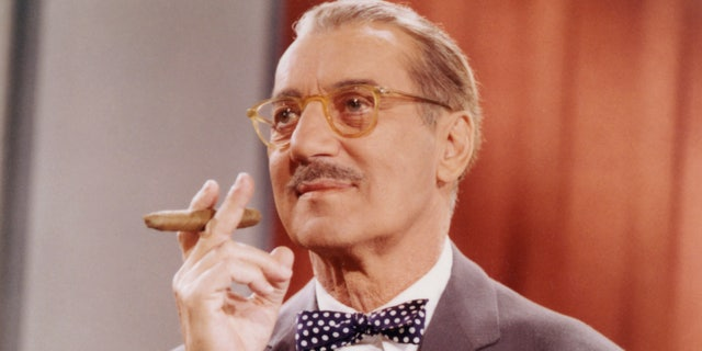 American comedian Groucho Marx was the host of the original iteration of 'You Bet Your Life.' (Getty Images)