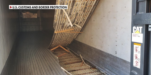 One recent seizure involved a tractor-trailer containing 564 pounds of methamphetamine under the floorboards. Officers say criminals are getting more creative in the ways they smuggle drugs across. They fear the problem will only get worse, as long as demand in the U.S. remains high. (U.S. Customs and Border Protection)