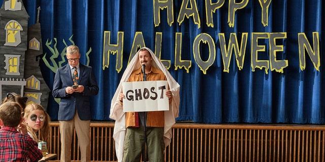 """Adam Sandler's """"Hubie Halloween"""" debuts on Netflix in October 2020."""