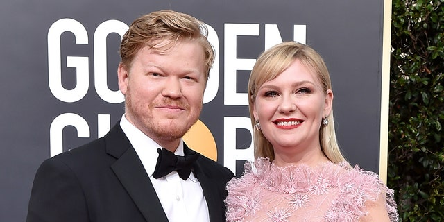 Jesse Plemons (left) and Kirsten Dunst have been engaged since 2017 and share a 2-year-old son, Ennis. (Photo by Axelle/Bauer-Griffin/FilmMagic)