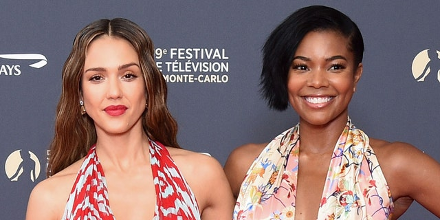 In addition to running her Honest Company empire, Alba (left) also serves as a producer of 'L.A.'s Finest' alongside Gabrielle Union (right).