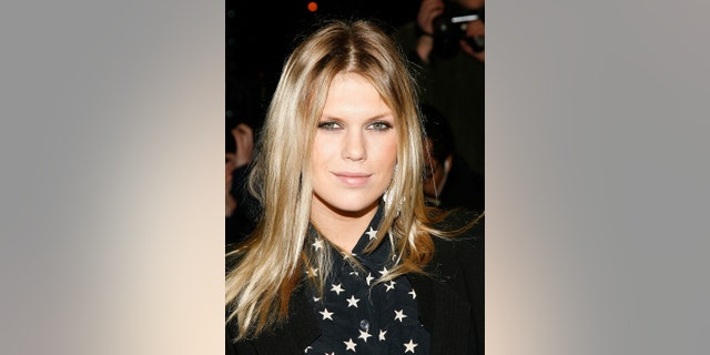 Model Alexandra Richards attends the Chanel Rouge Coco Dinner at The Mark Hotel on February 9, 2010, in New York City.