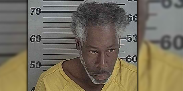 Police said the suspect was a fugitive wanted in Illinois named John Hughes, 50. (Courtesy: Dyer County Sheriff's Office)
