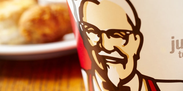 The incident unfolded at a KFC in Fresno, Calif., according to the woman who posted the clip to social media.