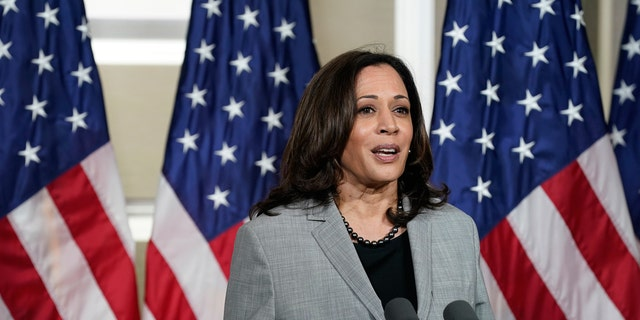 Democratic vice-presidential candidate Kamala Harris echoed her running mate and sidestepped a pair of questions about adding more members to the Supreme Court.
