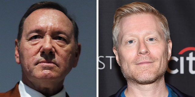 Kevin Spacey was initially accused of sexual misconduct by 'Star Trek: Discovery' actor Anthony Rapp.