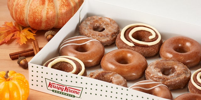 """""""We've not only brought back your favorites, we've added a new Pumpkin Spice Cinnamon Roll Doughnut and you're going to love it,"""" said Dave Skena, the chief marketing officer of Krispy Kreme."""