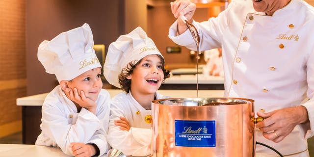 The confectioner has opened the Lindt Home of Chocolate in Kilchberg, inviting fans to step inside the brand's world with a slew of interactive experiences.