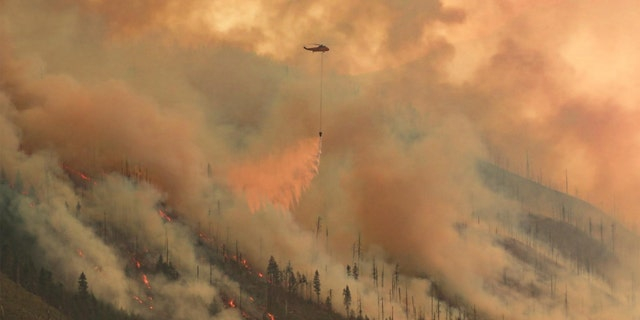 The Lionshead Fire continues to rage in Oregon.
