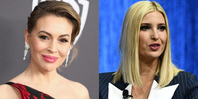 Alyssa Milano discussed her surprising first meeting with Ivanka Trump.