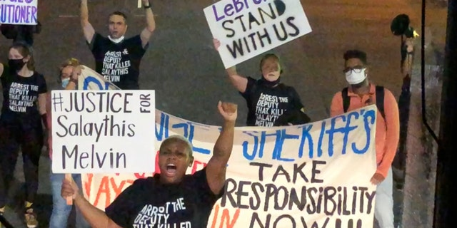 Black Lives Matter Protest Occurs Outside Of NBA Bubble