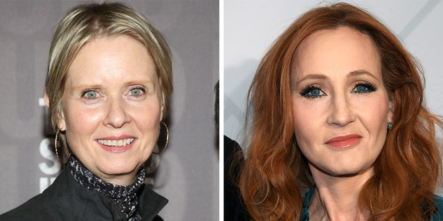 Cynthia Nixon Calls JK Rowling's Anti-Trans Tweets 'Baffling'