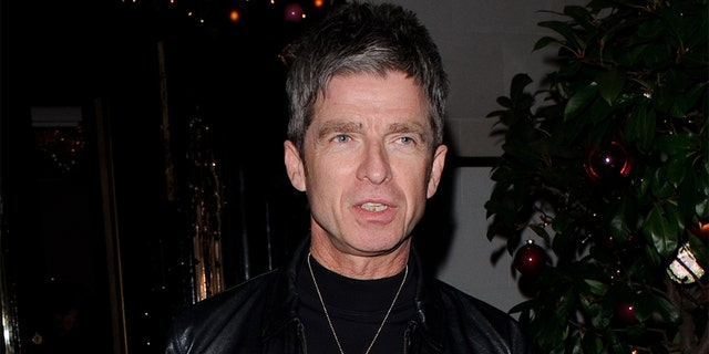 Noel Gallagher seen leaving Scott's restaurant in Mayfair on December 20, 2019 in London, England