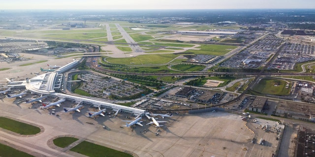 Aerial of Chicago O'Hare International Airport (iStock)