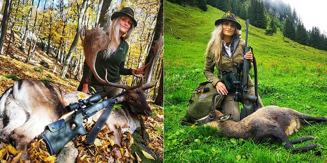 Petra Krchavá lives in Vinica, Slovakia and has hunted for over 13 years, a pursuit which dates back generations in her family.