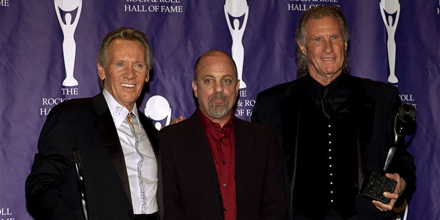 Bobby Hatfield and Bill Medley of The Righteous Brothers, with Billy Joel (center).