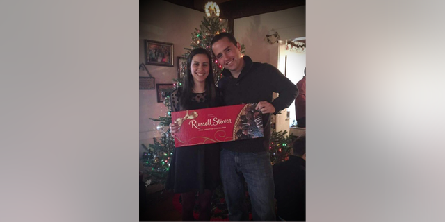 The chocolate brand played a big role in the couple's holiday traditions.