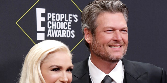 Blake Shelton commented on his engagement to fellow musician Gwen Stefani.