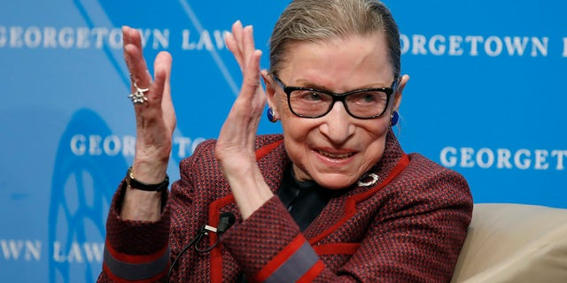 Celebrities are speaking out following Ruth Bader Ginsburg's death. The Supreme Court justice died Friday at the age of 87.