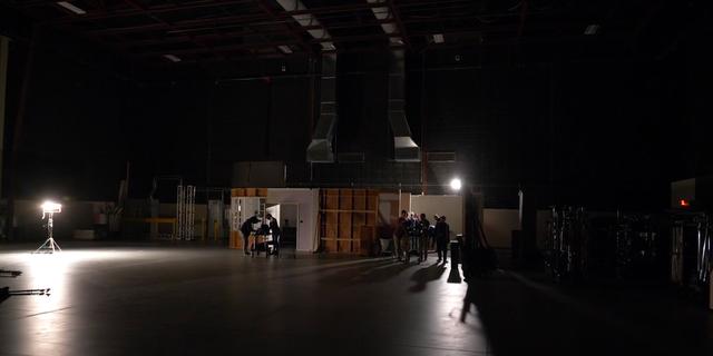 Georgia Film Academy preparing a set for production before the coronavirus pandemic. (Georgia Film Academy)