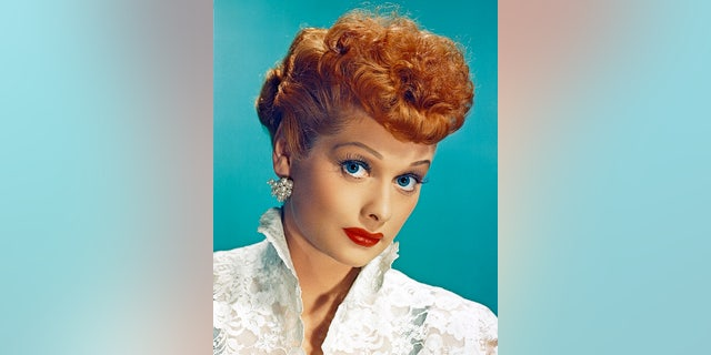 Lucille Ball (1911-1989) as Lucy Esmeralda MacGillicuddy Ricardo in the popular TV series 'I Love Lucy,' circa 1955.