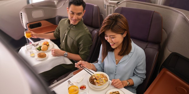"Reservations for seatings at ""Restaurant A380"" were made available Monday, but sold out the same day."