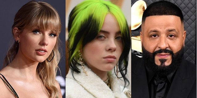 Taylor Swift, Billie Eilish and DJ Khaled are among the stars that have joined the Just Vote campaign.