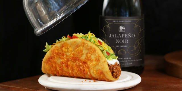 Taco Bell releases its own wine to pair with new menu item