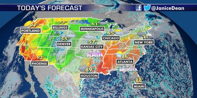 The national forecast for Sept. 10, 2020.